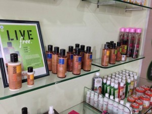 Cosmetic range at Pran Organic Mart