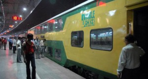 DOUBLE DECKER TRAIN, INDORE TO SURAT
