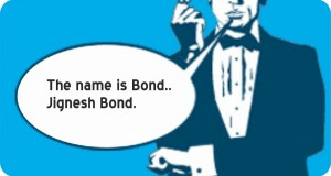 My name is Bond: Gujju Bond