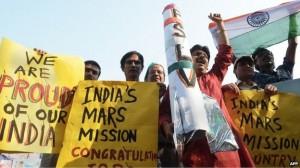 Surat Celebrates the Success of India's Mars Orbit Mission