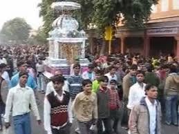 Various processions during Muharram