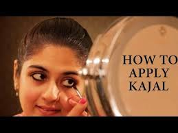 Application of kajal should be perfectly done