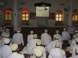 Dawoodi Bohras at the religious sermon during Muharram in Surat