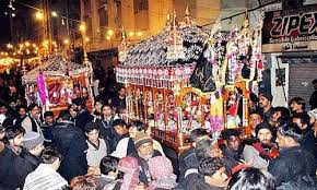 Deities at Muharram in Surat