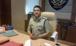 Surat City commissioner Rakesh Asthana