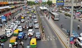 Traffic on Surat roads